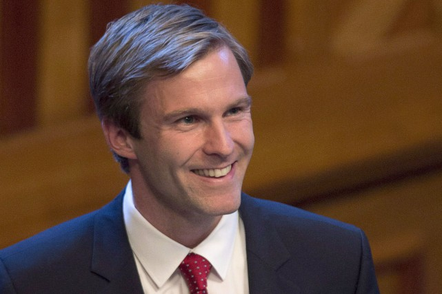 Le premier ministre du Nouveau-Brunswick, Brian Gallant.... (Photo Archives, La Presse Canadienne)