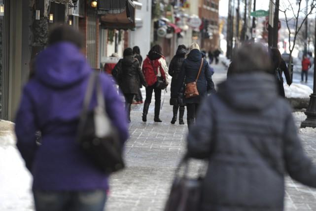 À Trois-Rivières, la population est majoritairement en progression... (Stéphane Lessard)