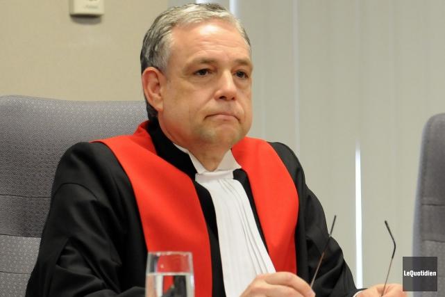 Le juge Michel Boudreault... (Archives Le Quotidien, Rocket Lavoie)