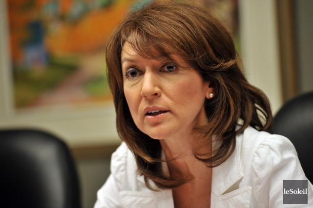 Nathalie Normandeauanime quotidiennement une émission d'affaires publiques sur... (PHOTO ARCHIVES LE SOLEIL)