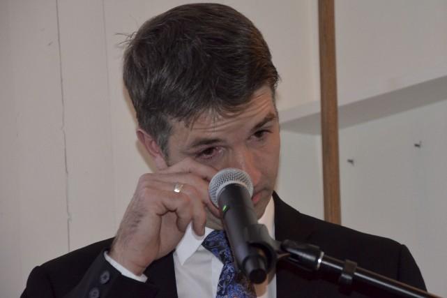 Lors de sa défaite électorale, Jean-François Fortin, cofondateur... (Collaboration spéciale Johanne Fournier)