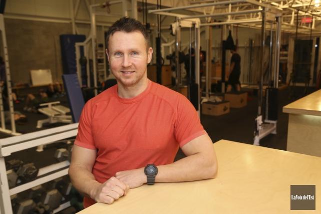 L'ancien athlète olympique et propriétaire du gymnase La... (Janick Marois, La Voix de l'Est)