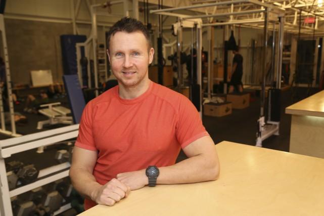 L'ancien athlète olympique et propriétaire du gymnase La... (photo Janick Marois)