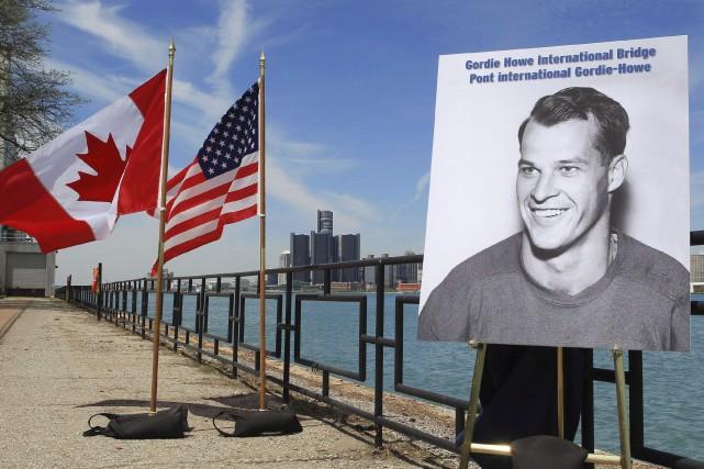 Le nouveau pont devant relier Windsor à Detroit,... (La Presse Canadienne, Dave Chidley)