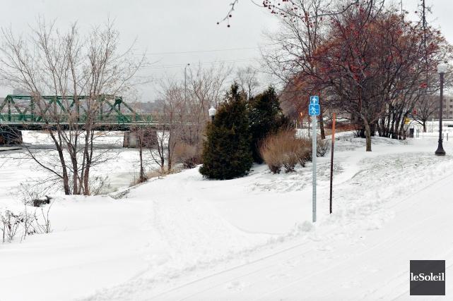 Le nouveau sentier de ski de fond qui... (Photothèque Le Soleil, Pascal Ratthé)