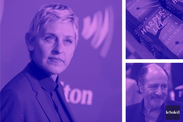 Prix humanitaire pour EllenDeGeneres (Infographie Le Soleil)
