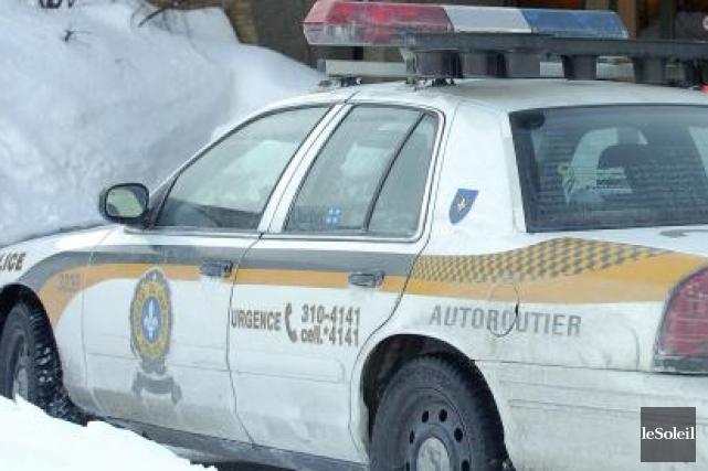 La Sûreté du Québec a révélé l'identité des deux victimes de l'accident mortel... (Photothèque Le Soleil)