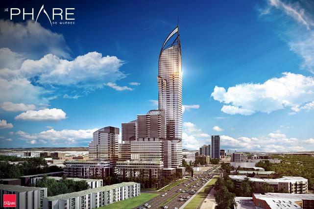 Le projet Le Phare... (Image fournie par Le Groupe Dallaire)