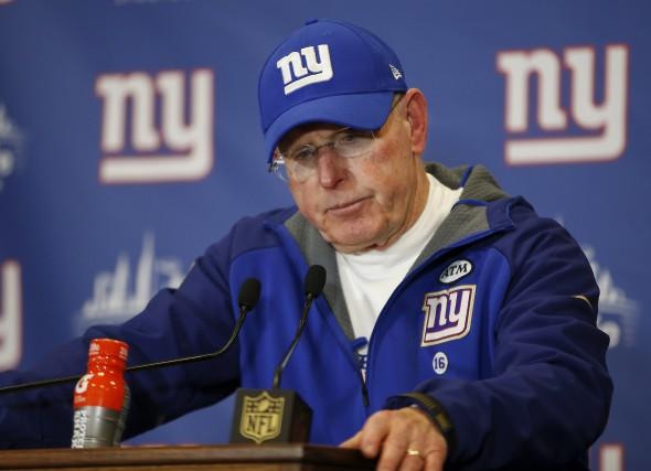 Tom Coughlin a remis sa démission après trois... (AP, Kathy Willens)