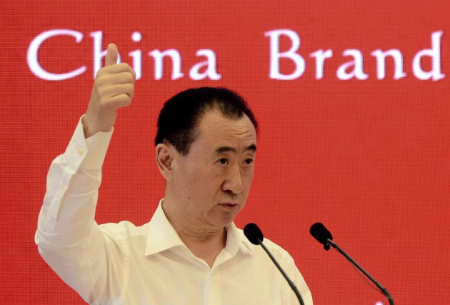 Wanda, fondée et dirigée par l'homme le plus... (Photo archives AFP)