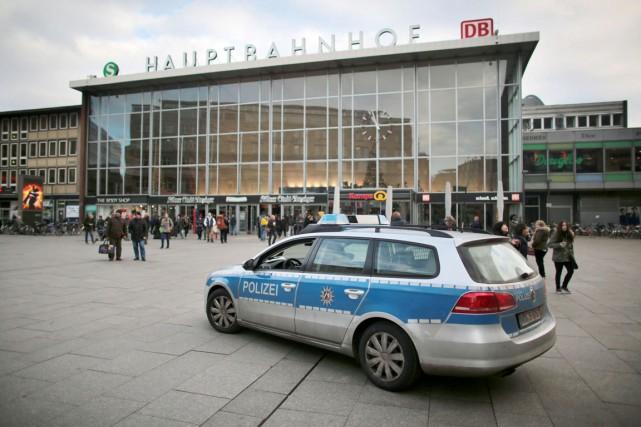 En Allemagne, la Saint-Sylvestre2015 avait été marquée par... (AP)