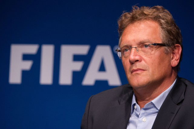 Jérôme Valcke... (PHOTO ARCHIVES AFP)