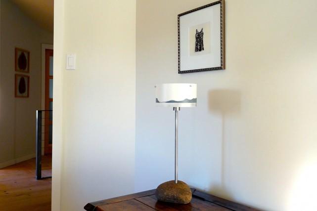 Les lampes de Loly Darcel.... (Photo fournie par Loly Darcel)