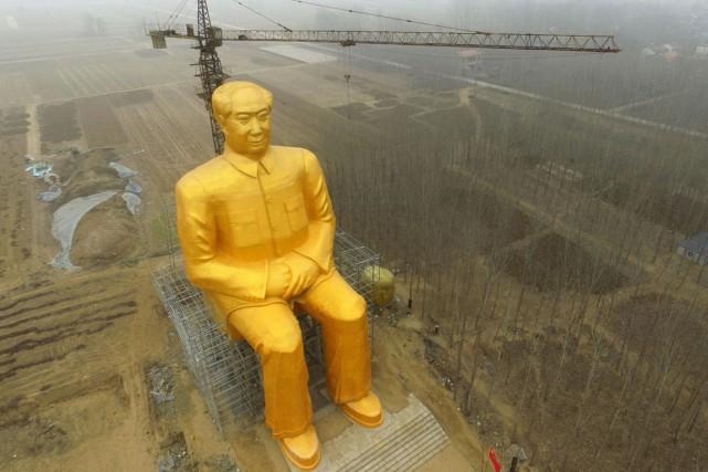 D'un coût de trois millions de yuan (environ... (PHOTO AFP)