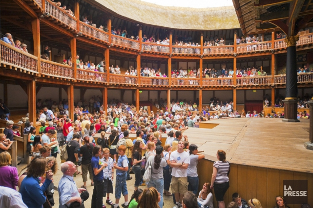 Le Shakespeare's Globe... (PHOTO ARCHIVES LA PRESSE)