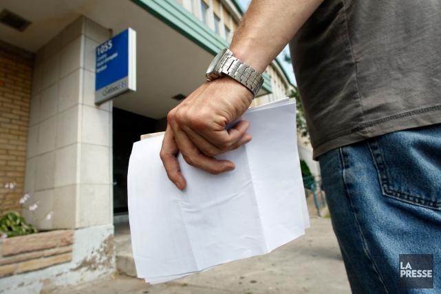 Le Mouvement autonome et solidaire des sans-emploi (MASSE) s'inquiète de la... (PHOTO MARTIN CHAMBERLAND, ARCHIVES LA PRESSE)