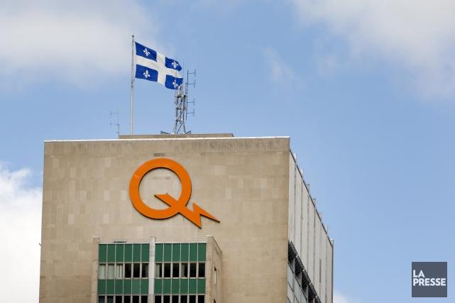 PHOTO ROBERT SKINNER, LA PRESSE-11/AVRIL/2015--GENERAL-Batiment logo Hydro Quebec... (PHOTO ROBERT SKINNER, ARCHIVES LA PRESSE)