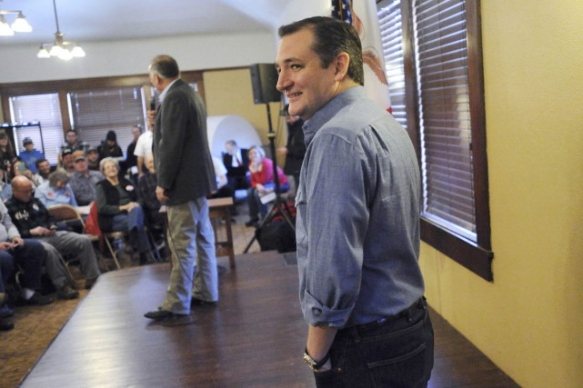 Ted Cruz arrive deuxième dans la course à... (PHOTO MARK KAUZLARICH, REUTERS)