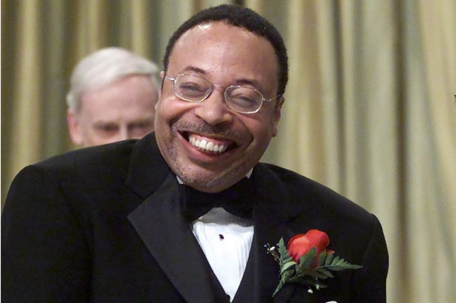 George Elliott Clarke, en 2001... (Archives, La Presse Canadienne)