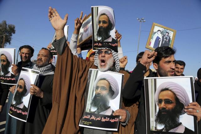 La crise entre l'Iran et l'Arabie saoudite s'étend... (AP, Karim Kadim)