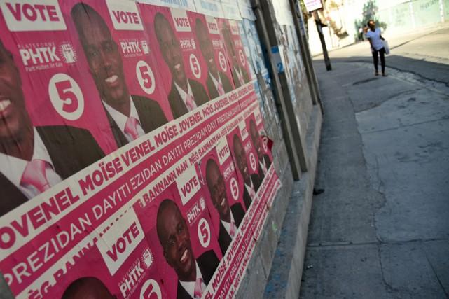 Au premier tour du scrutin présidentiel, le candidat... (PHOTO AFP)