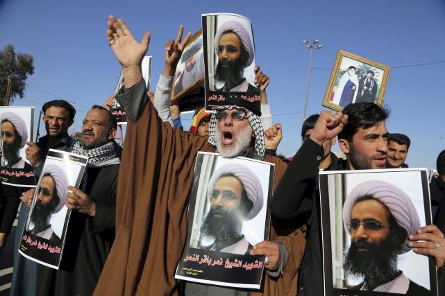 La crise entre l'Iran et l'Arabie saoudite s'étend... (Associated Press)