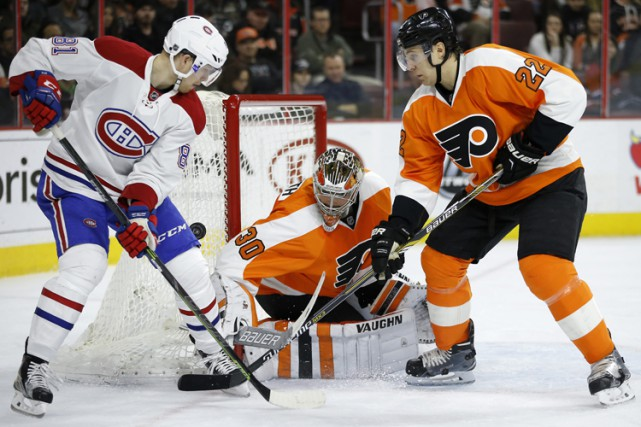 Relisez le clavardage du match entre le Canadien et les Flyers de Philadelphie... (PHOTO AP)