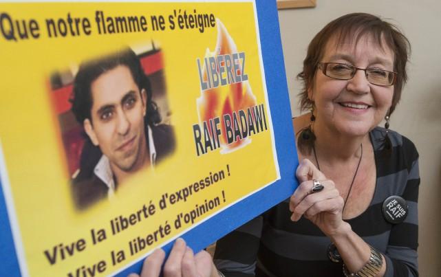 Jane Hospes est l'organisatrice des vigiles en soutien... (Spectre Média, Frédéric Côté)