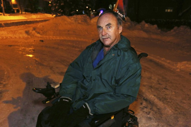 Depuis plus de dix ans, Michel Bolduc se... (photo Catherine Trudeau)