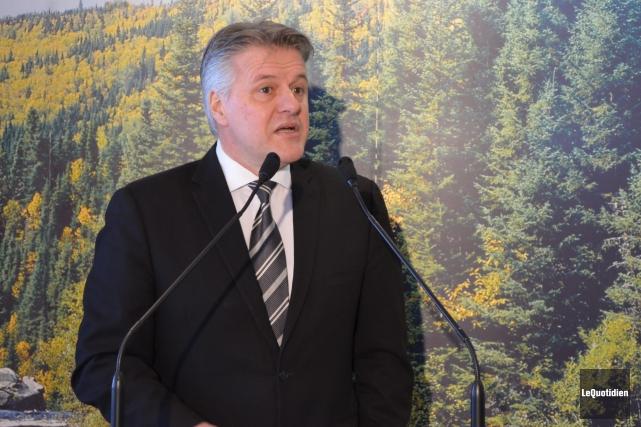Laurent Lessard, ministre des Forêts, de la Faune... (Archives Le Quotidien)