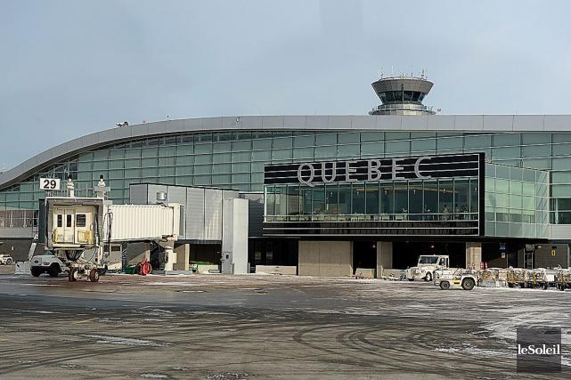 L'altercation a eu lieu à l'aéroport de Québec.... (Photothèque Le Soleil, Patrice Laroche)