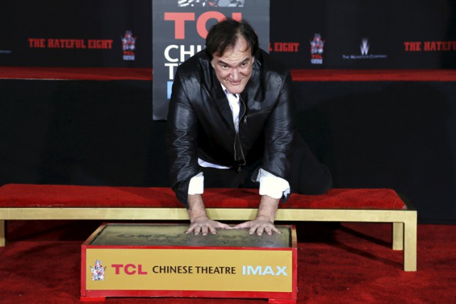 Quentin Tarantino... (PHOTO REUTERS)
