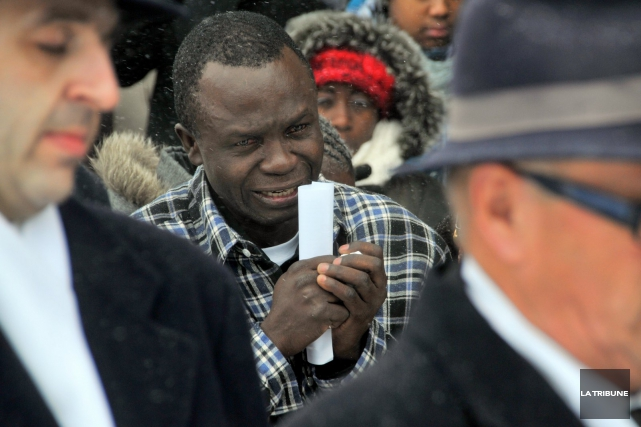 Jean-Claude Okenge... (Archives La Tribune)
