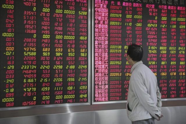 Les Bourses de la Chine continentale sont parvenues... (Photo Reuters)