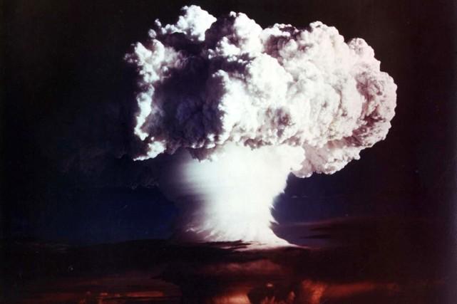 Le 1er novembre 1952, les États-Unis faisaient exploser... (PHOTO ARCHIVES AFP)
