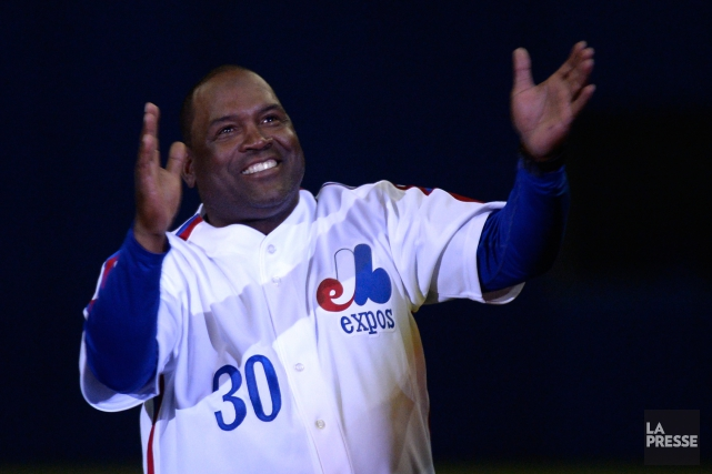 Tim Raines... (PHOTO BERNARD BRAULT, ARCHIVES LA PRESSE)