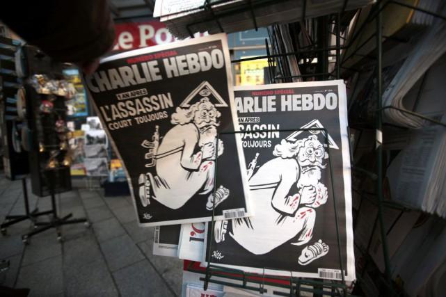 À la veille de la date anniversaire de l'attentat meurtrier à Paris contre... (PHOTO REUTERS)