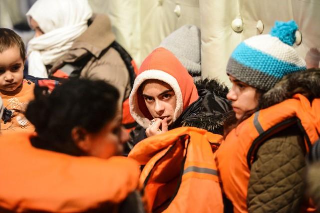 La Turquie, qui accueille à elle seule 2,2... (PHOTO BULENT KILIC, ARCHIVES AFP)