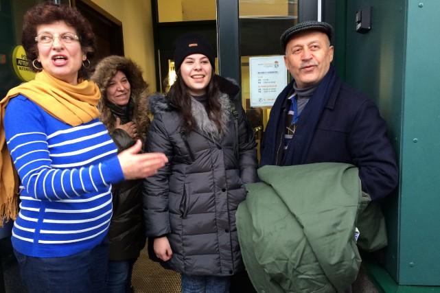 Une des familles reçues au Centre multiethnique de... (Collaboration spéciale, Patricia Cloutier)