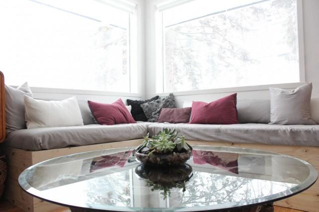 Comment créer un décor chaleureux où se réfugier lors des froides soirées... (Photo fournie par Marie-Eve Best)