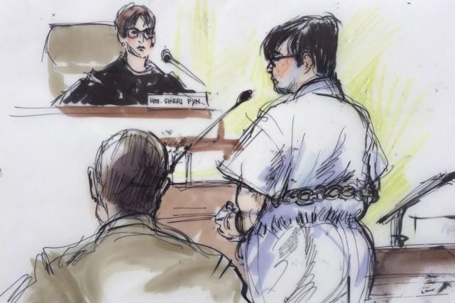 Enrique Marquez, accusé en lien avec l'attaque de... (Illustration Mona Edwards, Reuters)