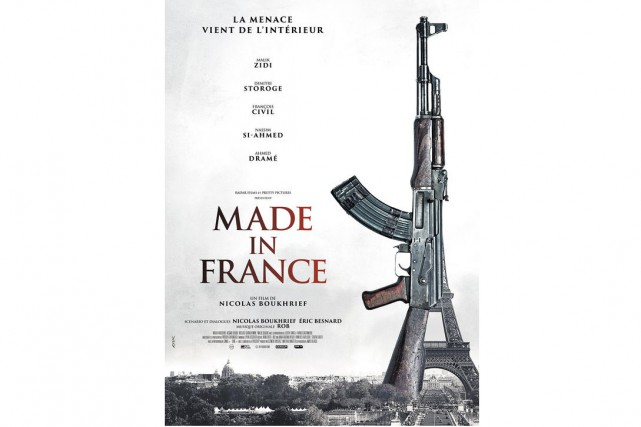 Le film explosif Made in France, déprogrammé des salles en France,... (IMAGE FOURNIE PAR  PRETTY PICTURES)