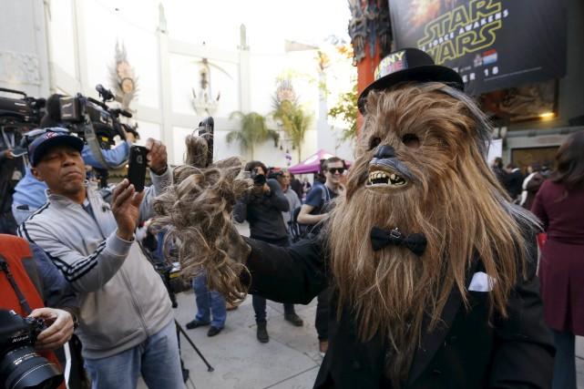 Mardi, le dernier opus Star Wars avait déjà... (PHOTO MARIO ANZUONI, ARCHIVES REUTERS)
