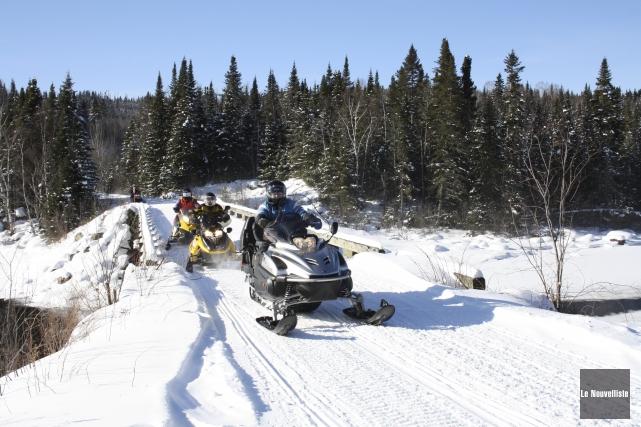 Malgré les quelques bordées de neige tombées sur le sud du Québec au cours de... (Archives Le Nouvelliste, Gabriel Delisle)