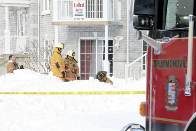 Les pompiers de Drummondville ont sauvé la vie... (COLLABORATION SPÉCIALE, ÉRIC BEAUPRÉ)