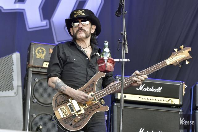 Ian «Lemmy» Kilmister... (Archives, Agence France-Presse)