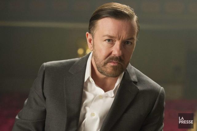 L'acteur et humoriste britannique Ricky Gervais a fait... (PHOTO ARCHIVES LA PRESSE)