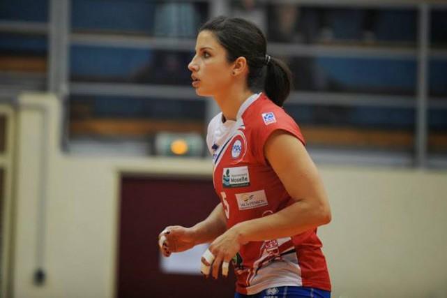 La Bécancouroise Janie Guimond participe aux qualifications olympiques... (Courtoisie)