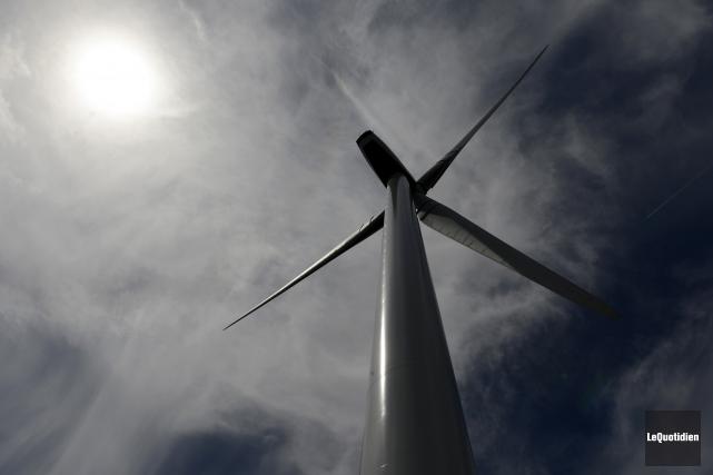 L'Association québécoise de la production d'énergie renouvelable (AQPER) a... (Archives Le Quotidien, Jeannot Lévesque)