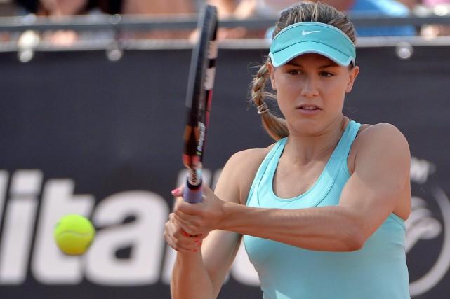 Eugenie Bouchard a vaincu l'Américaine Nicole Gibbs en... (Associated Press)